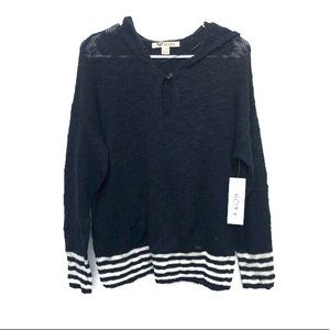 Roxy Knit Pullover Hoodie